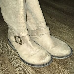 Vintage Inspired Leather Boots